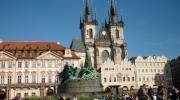 Прага осенью. Староместская площадь