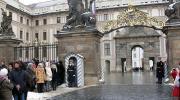 Прага зимой. Президентский дворец