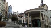 Карловы Вары.  Замковая колоннада