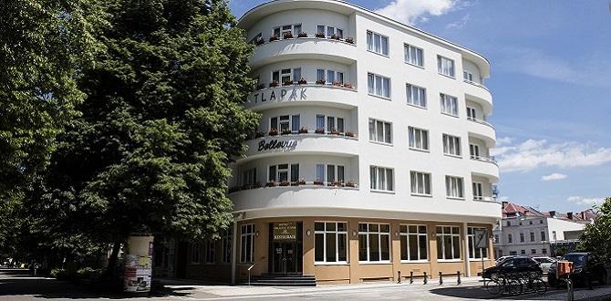 Отель Bellevue Tlapák, Подебрады